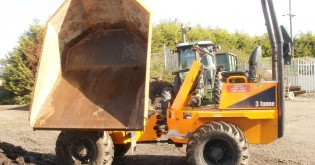 2 ton swivel dumper