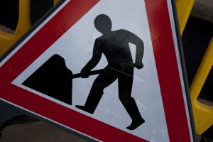 Range of Road Working Signs, Cones, Lights & Barriers for Hire Colchester