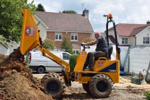 Versatile and Functional High Lift Dumpers for Hire, Brentwood