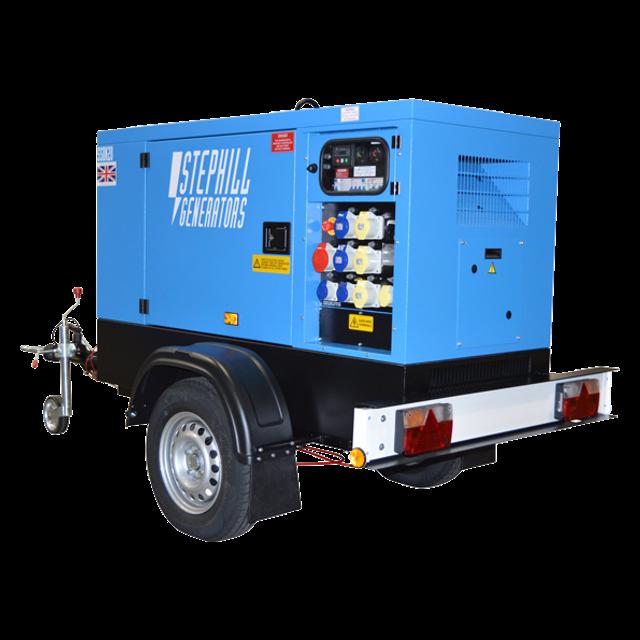 10Kva Diesel Generator – Silenced