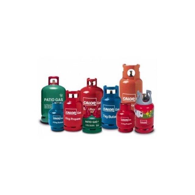 Propane and Butane Gas Cylinders
