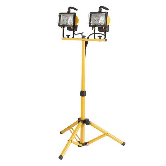 Twin Tripod Lights