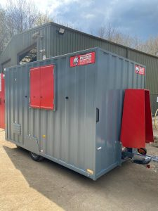 Mobile Welfare Cabins